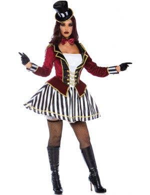 Night Ringmaster Sexy Women's Fancy Dress Costume