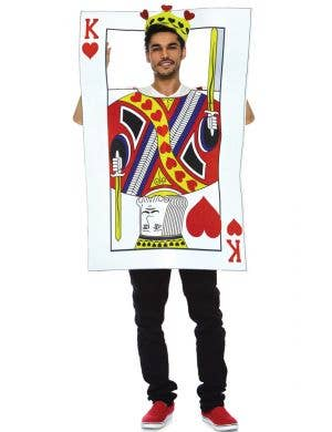 King Of Hearts Men's Novelty Playing Card Costume