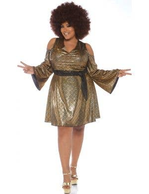 Foxy Disco Doll Plus Size Women's Costume