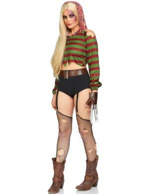Dream Killer Women's Sexy Freddy Halloween Costume