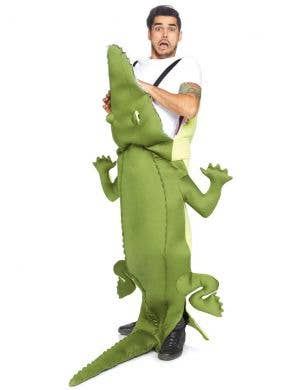 Man Eating Alligator Novelty Adult's Costume