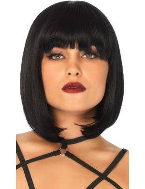Natural Look Women's Black Bob Costume Wig