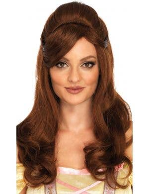 Storybook Beauty Women's Curly Brown Belle Wig