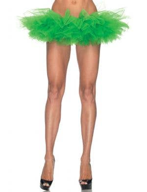 Ruffled Women's Green Tutu Costume Accessory