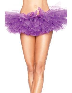 Ruffled Women's Purple Tutu Costume Accessory