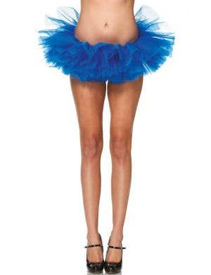 Royal Blue Women's Organza Tutu Costume Accessory