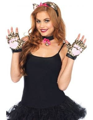 Cougar Women's Sexy Animal Costume Accessory Kit