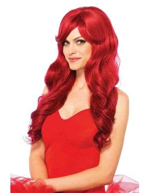 Wavy Red Women's Ariel Costume Wig