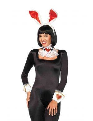 Women's White Rabbit Costume Kit Main Image