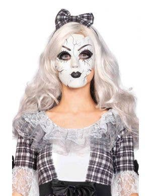 Broken Doll Women's Costume Mask Main Image