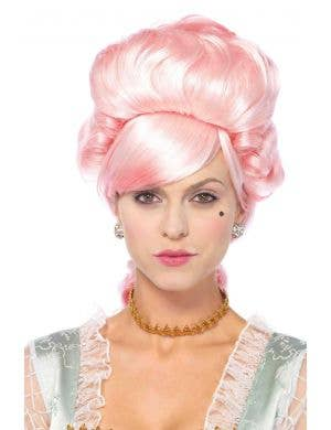 Marie Antoinette Women's Deluxe French Costume Wig Front View