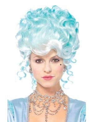 Women's Blue French Queen Marie Antoinette Costume Wig
