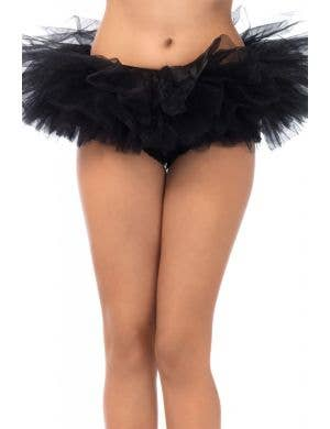 Fluffy Black Layered Tutu Women's Costume Accessory