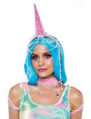 Showgirl Unicorn Headband and Harness Accessory Kit