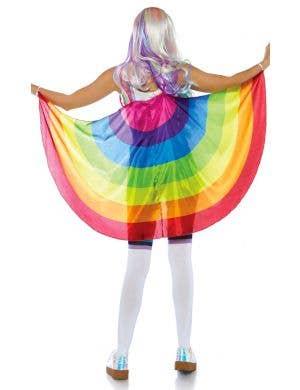 Rainbow Wings Music Festival Costume Accessory