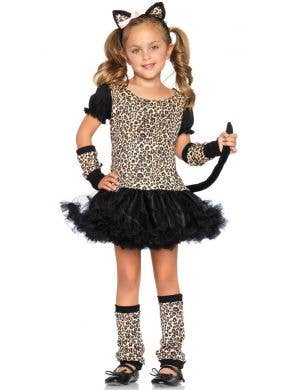 Little Leopard Girl's Animal Fancy Dress Costume