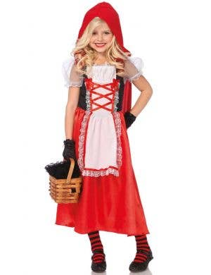 Red Riding Hood Girl's Fancy Dress Costume