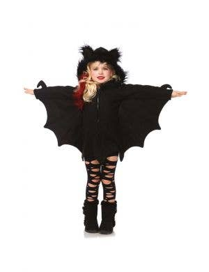 Cozy Bat Girl's Halloween Fancy Dress Costume