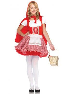 Lil Miss Red Teen Girl's Fancy Dress Costume