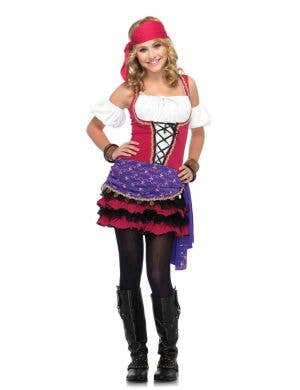 Teen Girls Gypsy Fortune Teller Costume Main Image