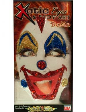 Bozo The Clown Stick On Makeup