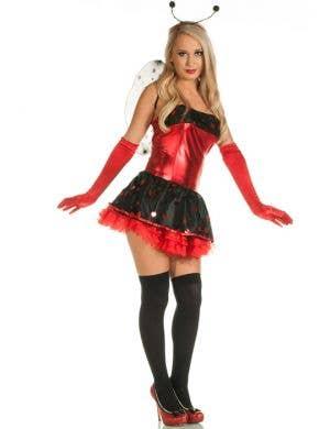 Playful Ladybug Sexy Women's Costume