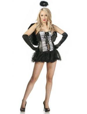 Dark Angel Women's Budget Halloween Costume