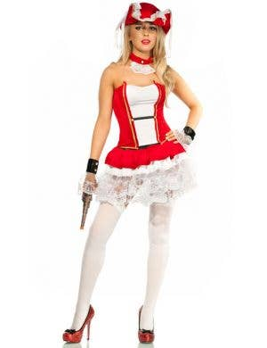 Red Pirate Wench Women's Costume