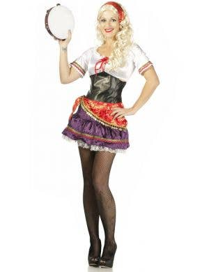 Gypsy Fortune Teller Womenu0027s Costume ...  sc 1 st  Heaven Costumes & Shop Gypsy Costumes Online | Heaven Costumes Australia