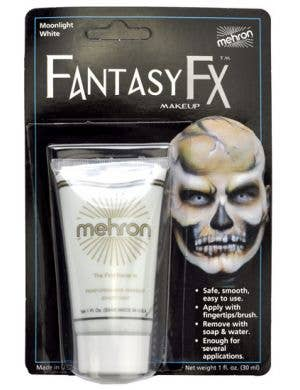 Fantasy FX Cream Makeup - Moonlight White