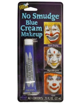 No Smudge Cream Makeup - Blue