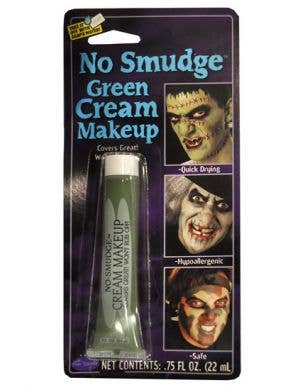 No Smudge Cream Makeup - Green