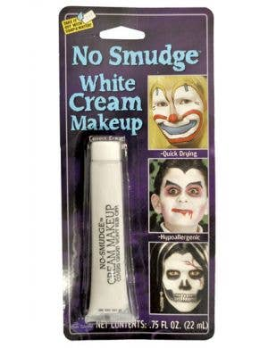 No Smudge Cream Makeup - White