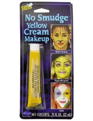 No Smudge Cream Makeup - Yellow