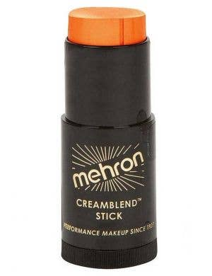 Creamblend Orange makeup stick Mehron