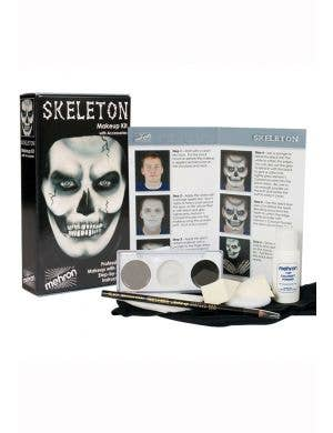 Creepy Skeleton Professional Makeup Kit