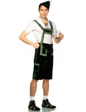 German Lederhosen Men's Oktoberfest Costume