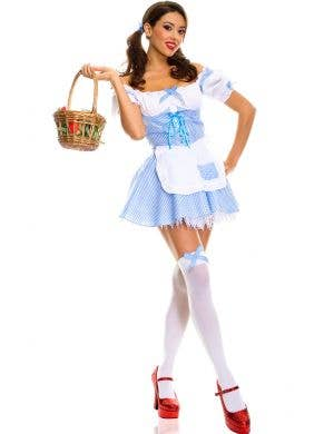 Women's Classic Dorothy Sexy Fairytale Costume Main Image