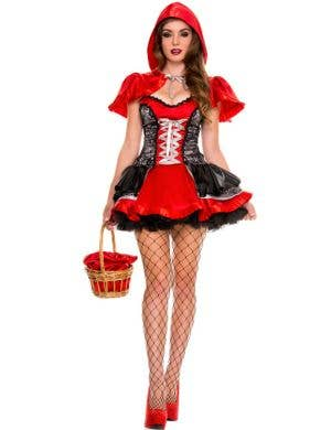 Fiery Lil' Red Sexy Women's Costume