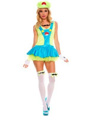 Playful Plumber Women's Miss Luigi Costume