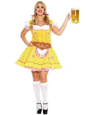 Bright Beer Baby Plus Size Women's Oktoberfest Costume