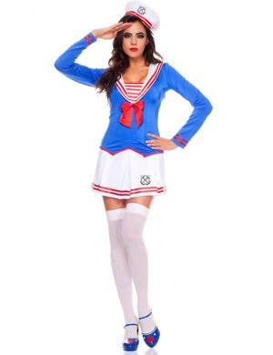 Anchors Away Sexy Women's Sailor Costume