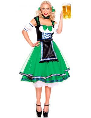 Green Oktoberfest Women's German Costume Main Image