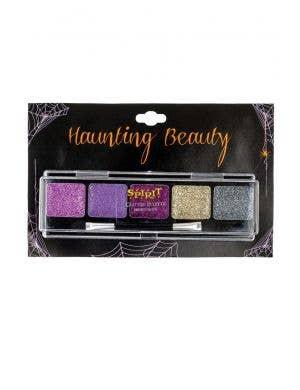 Haunting Beauty Purple Glitter Eye Shadow Palette