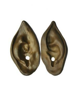 Werewolf Special FX Pointed Brown Latex Ears