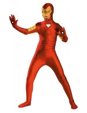 Iron Man Superhero Boys Skin Suit Costume