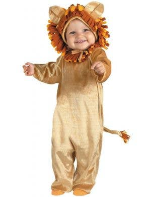 Cuddly Lion Cub Infant Fancy Dress Costume