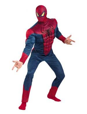 The Amazing Spiderman Muscle Chest Men's Costume