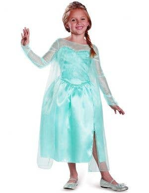 Snow Queen Elsa Girls Deluxe Frozen Costume