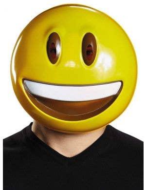 Smile Emoji Adult's Mask Costume Accessory